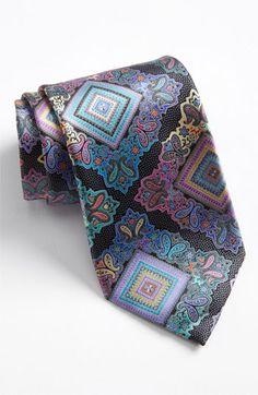 Ermenegildo Zegna 'Venticinque' Print Silk Tie available at Nordstrom