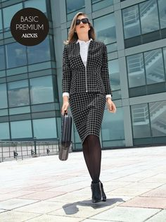 http://alexis.com.mx #FelizJueves, conquista con tu mejor #OOTD de BASIC PREMIUM ALEXIS #LookAlexis #AlexisModa #Basic #outfit #Office