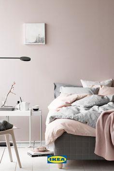 Textiles y cojines que te harán dormir en las nubes. Bedroom Loft, Dream Bedroom, Girls Bedroom, Bedroom Decor, Bedrooms, Tumblr Bedroom, Ikea, Sweet Home, Textiles