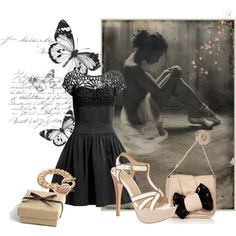 love it-change heels to a nude pump, created by agatkaja.polyvore.com