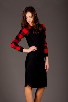 Buffalo Midi Dress by RubyClaire - 10% off coupon. #WearRubyClaire