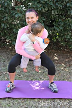Exercises for Mom and Baby