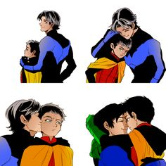Dick and Damian, cutest brothers ever