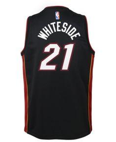 715ad2c2d Nike Hassan Whiteside Miami Heat Icon Swingman Jersey