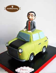 Mr. Bean - Cake by Mnhammy by Sofia Salvador