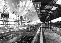 Katie Todaro, Train Station Abstract 3 (98757) - LIMITED EDITIONS