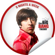 The Big Bang Theory: Howard Sticker Howard Wolowitz, Favorite Tv Shows, My Favorite Things, Episode Online, Big Bang Theory, Warner Bros, Bigbang, Bangs, Pop Culture