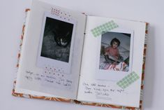 Scrapbooking Instax Photos | Fujifilm Instax Mini 7s