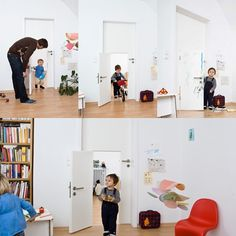Puertas para niños y mayores