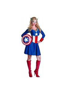 Disguise Unisex Adult Classic American Dream, Red/White/Blue, Medium (8-10) Costume