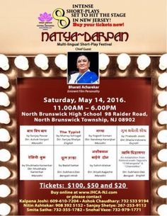 Natya Darpan at North Brunswick High School, 98 Raider Road, North Brunswick, NJ, Tickets, Indian Events Desi Events