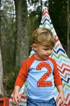 Happy Birthday T Shirt Raglan.  supersized.  1st 2nd 3rd 4th 5th 6th.  boy girl baby. $20.00, via Etsy.