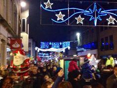 Gloucester Xmas lights 2014