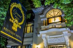 Offering a restaurant, a bar and free WiFi access, the elegant Grand Boutique Hotel is located in the center of Bucharest, within a walk from the. Bucharest, Romania, Boutique, Places, Boutiques