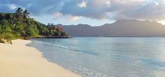Sainte Anne Resort & Spa in the Seychelles... I will have a client there in a few days :) I know they will love it!