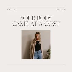 """✨ New Blog - Your Body Came at a Cost ✨ The bodies we criticize and hate are the same bodies that Jesus paid the ultimate price for. """"Daughter of God, be encouraged that you are so much more than the power that you have to catch someone's eye or attention. The praise of people is cheap and fleeting, but God's view of your body is proven by the price He paid and His conscious choice to make your body His most holy dwelling place."""" Daughter Of God, Bodies, Hate, People, Blog, Blogging, People Illustration, Folk"""