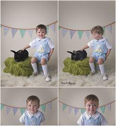 © Brandi Williamson Photography   Easter photos with bunny