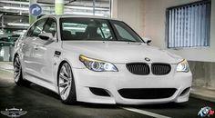 BMW E60 M5 white