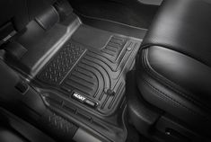 Husky Liners Fits 2018-19 Ford Expedition Weatherbeater Front Floor Mats