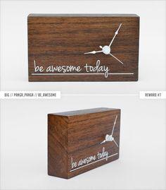 WoodTime: Simple, modern & minimal bare wood clocks. by Tomasz Wojnar — Kickstarter