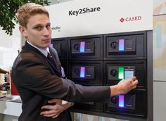 Key2Share system lets a person send an electronic key by e-mail or text message ...