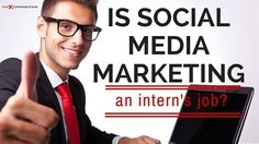 It's an ongoing debate: Is social media marketing an intern's job? Click here to hear both sides of the story.
