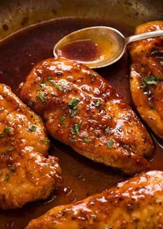 Honey Garlic Chicken Breast | RecipeTin Eats