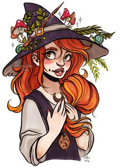 witchy Chelle by Fukari.deviantart.com on @DeviantArt