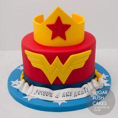 Wonder Woman Cake For 8