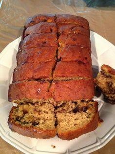 ~ I'M NOT MESSY... I'M JUST BUSY ~: Chocolate Chip Banana Bread Recipe