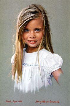 Portrait -- by Mary Villon de Benveniste