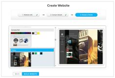 A new way of creating websites | Cylex Sitebuilder