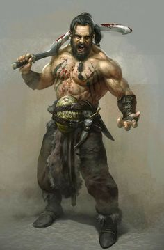 Khal Drogo fan art?