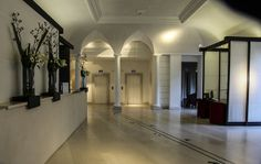 The lobby of the  Gran Melia hotel Rome www.dianesimages.com