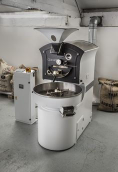 Our Giesen W6 Coffee Roaster