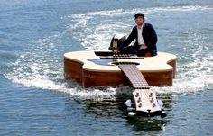 Crazy Guitar Boat