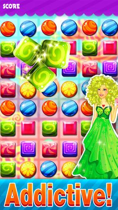App Shopper: Candy Best Match-3 - Puzzle adventure in juicy fruit land free (Games)