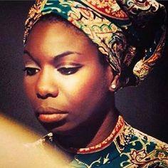 NINA SIMONE- Singer/musician and black activist