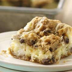 Oh my! These look AMAZING! Chocolate Chip Cheesecake Bars Ingredients 1 package (8 oz) cream cheese, softened 1/2 cup sugar 1 egg 1/2 cup coconut, if desired 1 roll (16.5 oz) refrigerated chocolate...