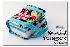 Sugar Bee Crafts: sewing, recipes, crafts, photo tips, and more!: Scripture Case Tutorial - Divided