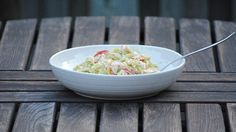 Spring Vegetable Orzo Salad with Tahini and Sumac Dressing, a recipe on Food52