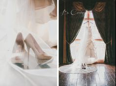 Colin & Marilin | Married  www.bbcphotography.com #roswell mill #bride #veil #bridal