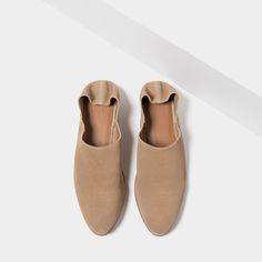 FLAT LEATHER SHOES-Leather-SHOES-WOMAN | ZARA United States