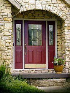 Benjamin Moore Dinner Party Red Front Door Love It