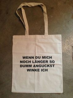 Stofftasche/Jutebeutel Winke Winke  www.deinestofftasche.ch