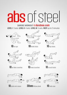 Abs of steel workout abdomen hombre, peso corporal, entrenamiento con pesas Oblique Workout, Abs Workout Video, Gym Workout Tips, Abs Workout Routines, Ab Workout At Home, Yoga Routine, Workout Challenge, At Home Workouts, Oblique Exercises