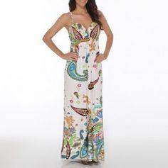 Empire waist surplice maxi dress 22.99