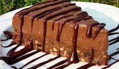 Υπέροχο σοκολατένιο γλύκισμα με μους σοκολάτας, τυριού χωρίς ψήσιμο. Μια συνταγή για ένα πεντανόστιμο σοκολατένιο γλύκισμα για τους λάτρεις της σοκολάτας και όχι μόνο. Υλικά συνταγής Για τη βάση: 120 γρ. μπισκότα digestive θρυμματισμένα στο multi 1/3 φλ. τσαγιού