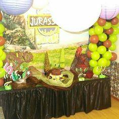 Festa de aniversário do Mário tema Dinossauros dia 17/09/17 fez 5 aninhos. Peça já a sua festa antes que a data esteja ocupada...