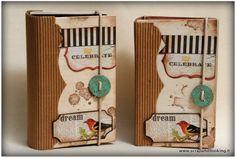 <p>Sulla scia del precedente post voglio mostrarvi anche i due minialbum che ho realizzato e regalato alle organizzatrici di Spring Time, le due Francesche di Scrap3art. Materiali di riciclo anche per questo progettino, in particolare le copertine sono fatte di compensato e le pagine interne sono fatte con le cup …</p>